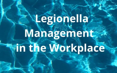 Legionella Management in the Workplace